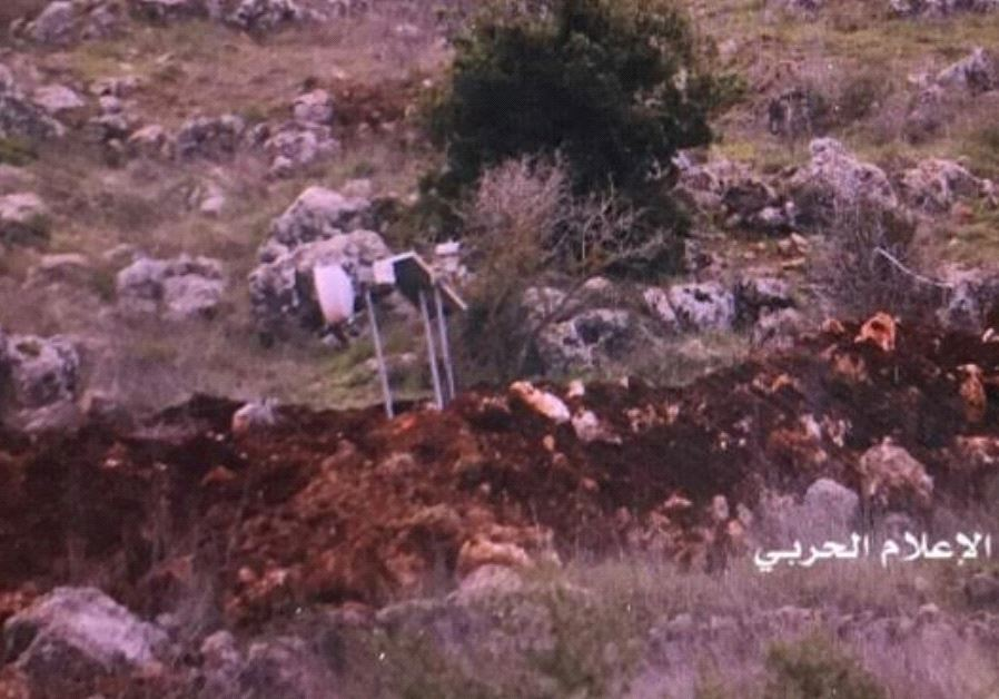 LEBANESE MEDIA CLAIMS ISRAEL THREW SMOKE BOMBS ACROSS THE BORDER FENCE