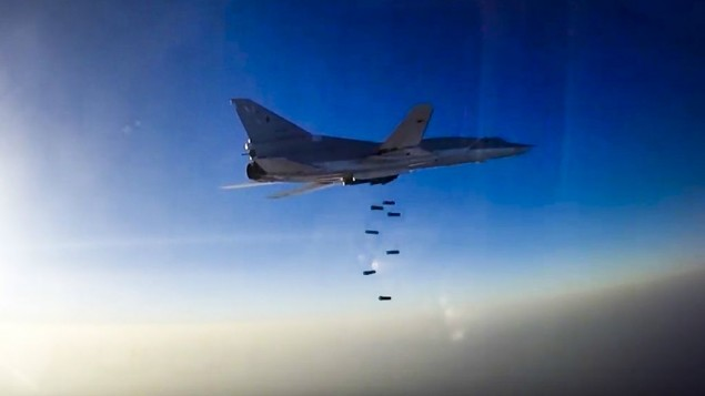 Russia using Iran airspace for Syria raids: official