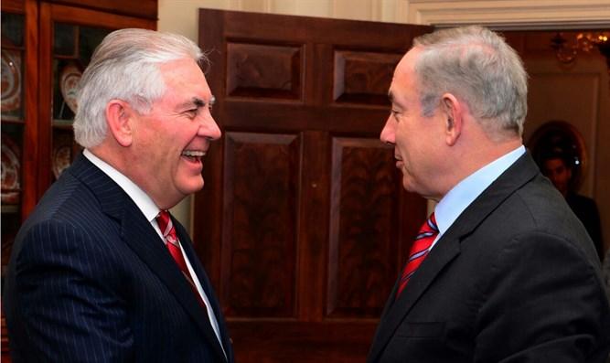 Netanyahu invites Tillerson to Israel