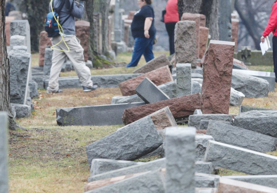 JEWISH CEMETERY VANDALIZED IN ROCHESTER, NY — THIRD INCIDENT IN US IN LESS THAN 2 WEEKS BYJTA