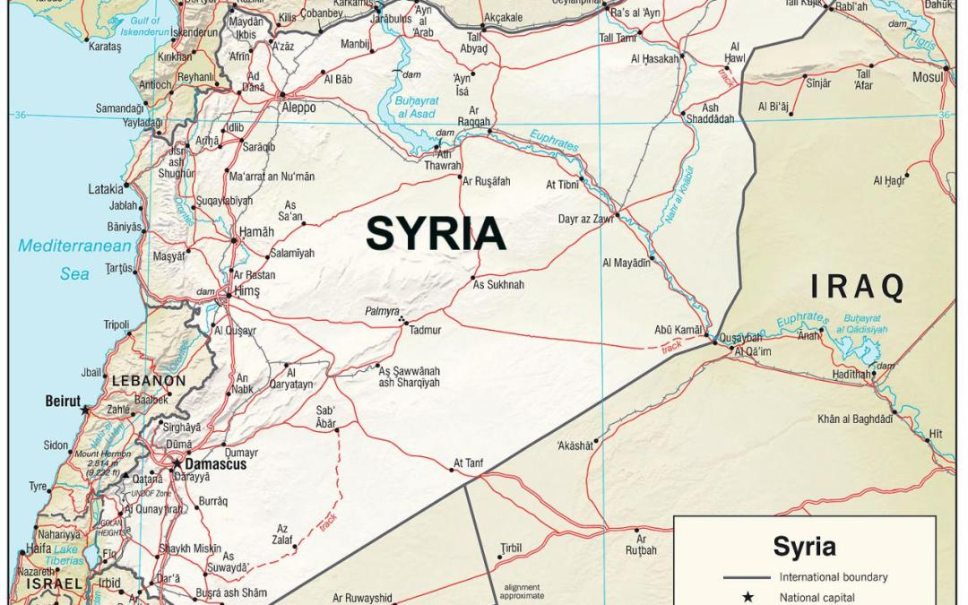 Iran is intensifying its military involvement in Syria – boycotting a military airport.