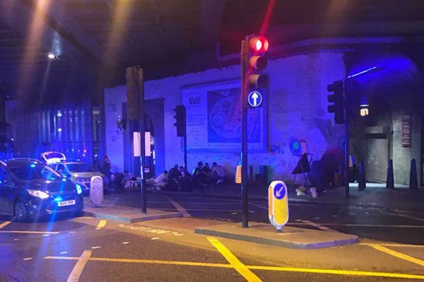 London Bridge crash: Reports of up to 20 people injured after 'van mounts pavement and ploughs into pedestrians'