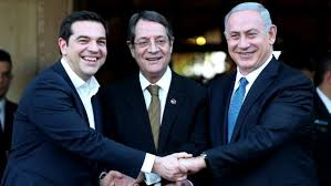 Israeli, Cypriot and Greek leaders to push ahead with pipeline plan