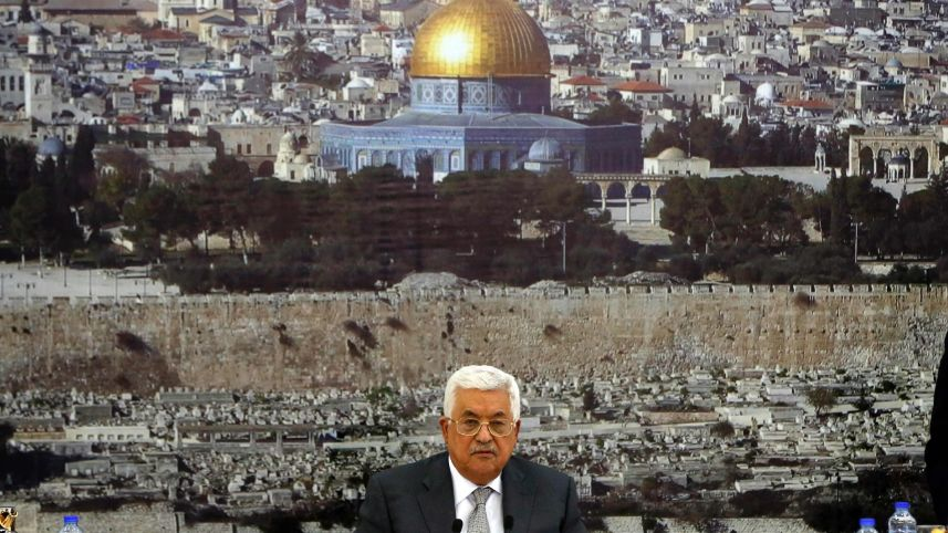 Abbas Says Freeze in Ties With Israel Includes Security Coordination