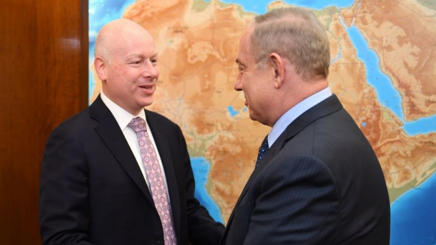 Trump sends Greenblatt to Israel to defuse Temple Mount crisis