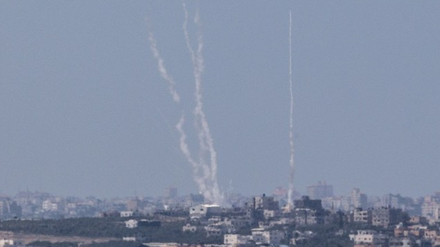 Palestinians fire rocket from Gaza into southern Israel