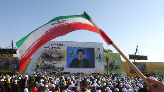 Hezbollah chief threatens Dimona reactor, says Israel fears a fight