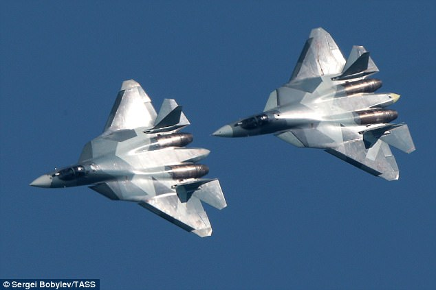 Russia unveils new fleet of 'invisible' supersonic fighter jets – and boasts that they will be the envy of air forces around the world