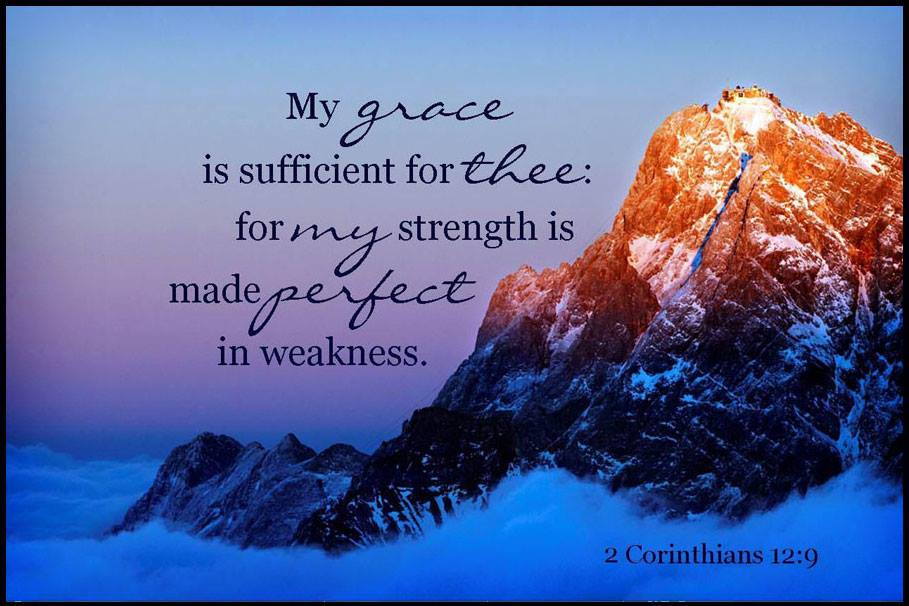 The way for His strength is our weakness
