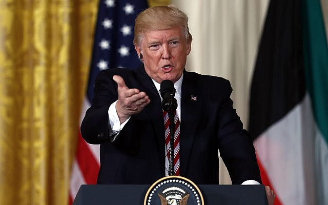 Trump expresses 'reluctance' on chances for Middle East peace