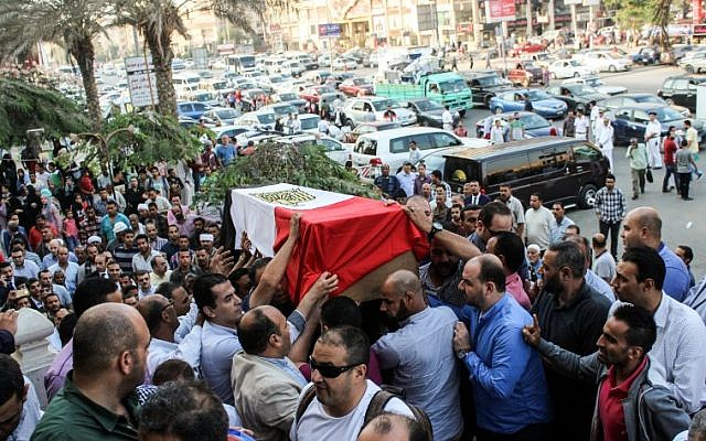 Israel condemns deadly attack on Egyptian policemen