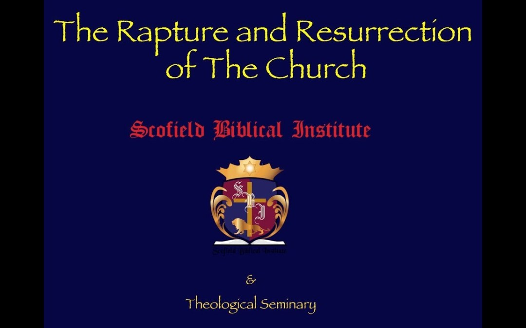 The Rapture & Resurrection of the Church Part 6