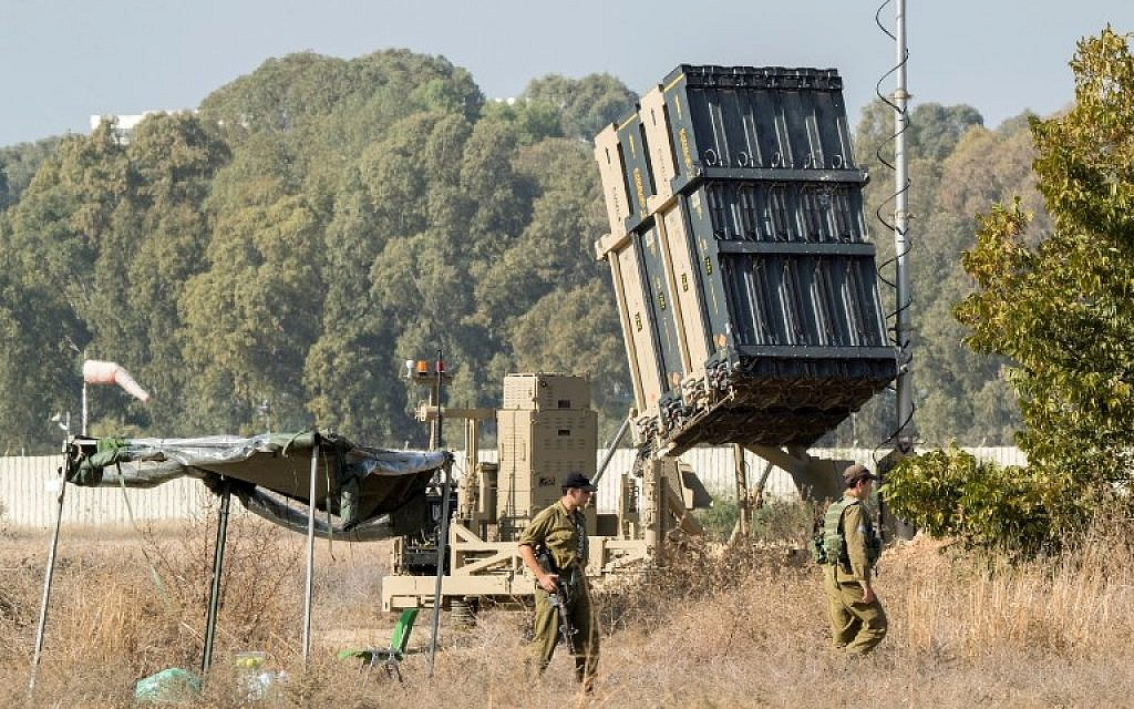 Threatened south to north, IDF seeks calm while steeling for worst