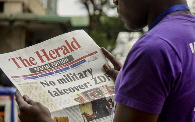 Foreign Ministry tells Israelis to avoid Zimbabwe amid apparent coup