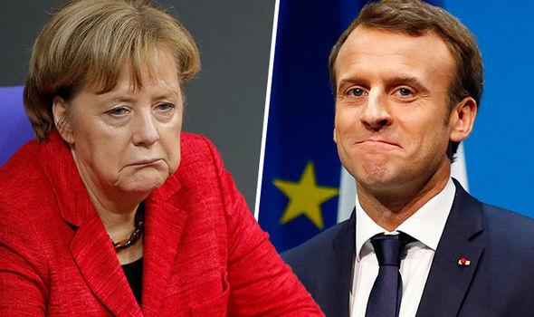 Germany must NOT be Europe's political dwarf: Merkel warned MACRON will rise up to lead EU