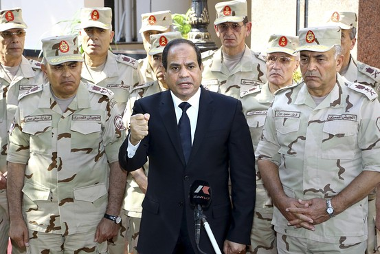"Egypt's el-Sissi warns Iran to stop ""meddling"" in region, says ""Gulf security is a red line"""