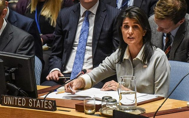 Defiant Haley chides fuming Security Council members: 'Change is hard'