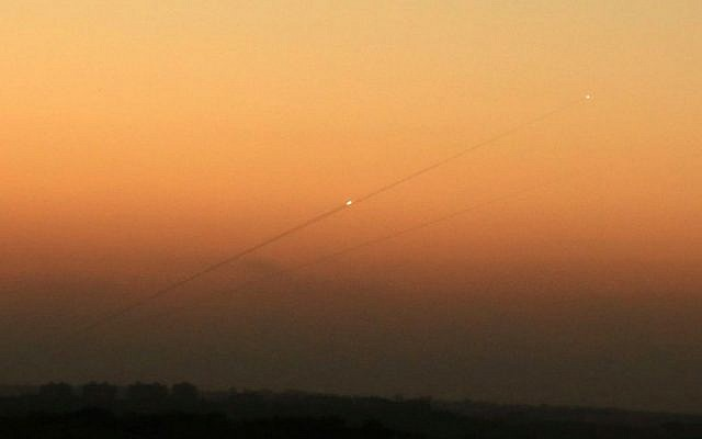 Rocket fired from Sinai toward southern Israel