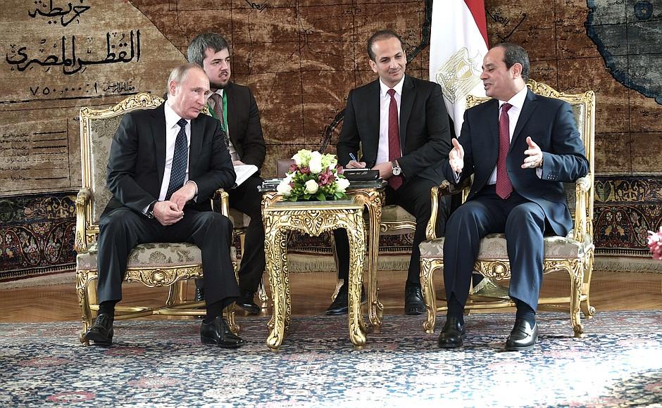 Russian-Egyptian talks