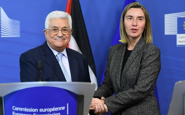 EU mum on Abbas speech because 'we don't comment on comments'