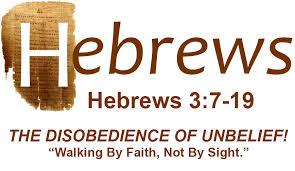 Unbelief Provokes God
