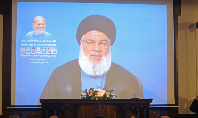 Nasrallah: Israel behind explosion which wounded Hamas official
