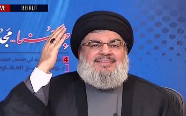 Hezbollah chief: Iran protests will leave Trump disappointed