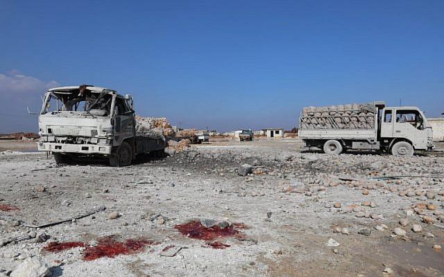 Syrian regime said to strike civilians with 'toxic gas'