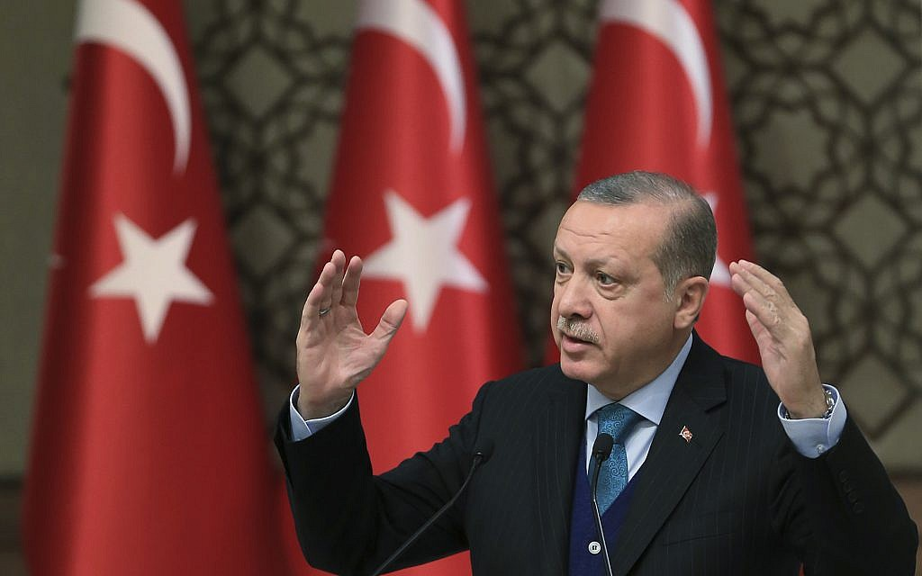 Ankara: US Decision to Open Embassy in Jerusalem in May Damages Peace