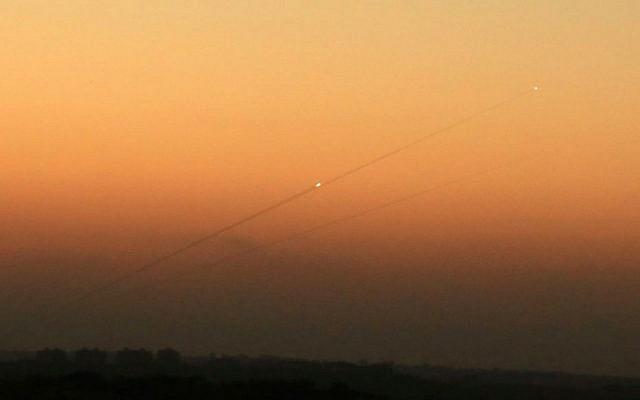 Fresh rocket sirens ring throughout Gaza border communities amid rising tensions