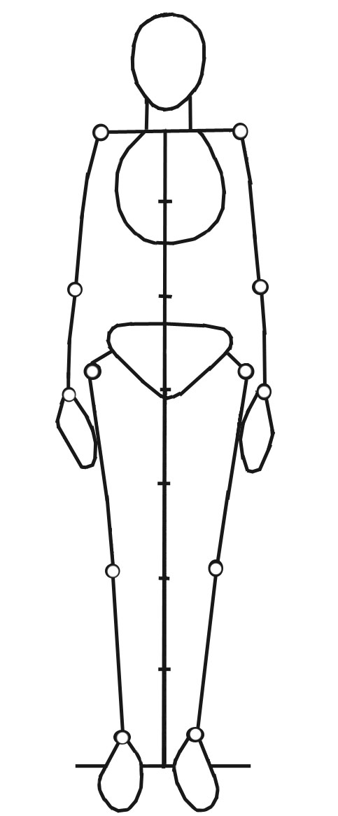 body sketch outline