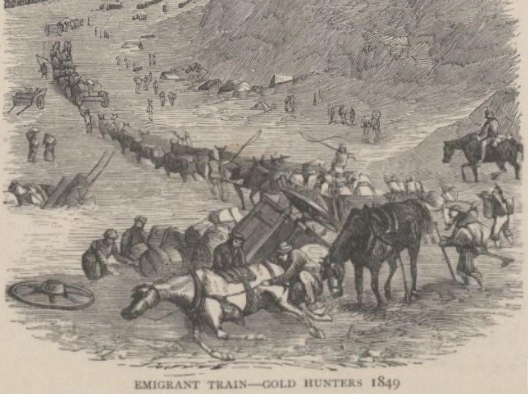 gold-rush-emigrant-train-1849