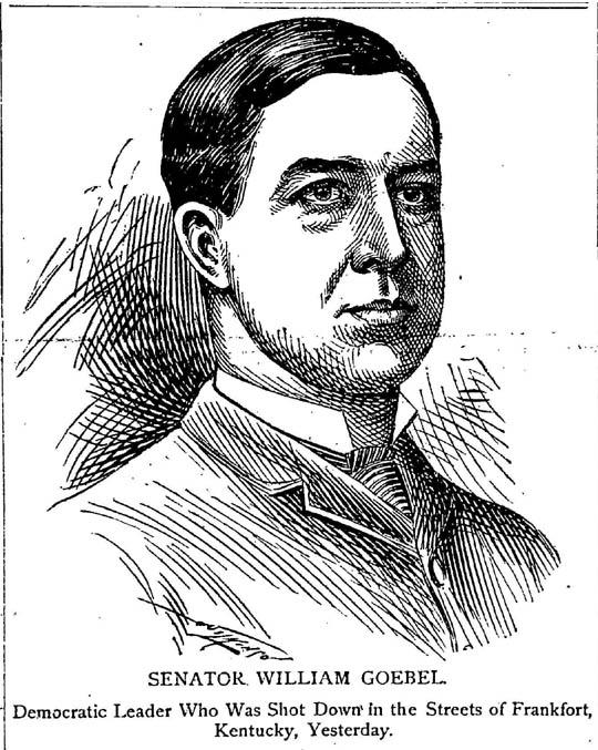 William Goebel (Image from the Atlantic Constitution article)