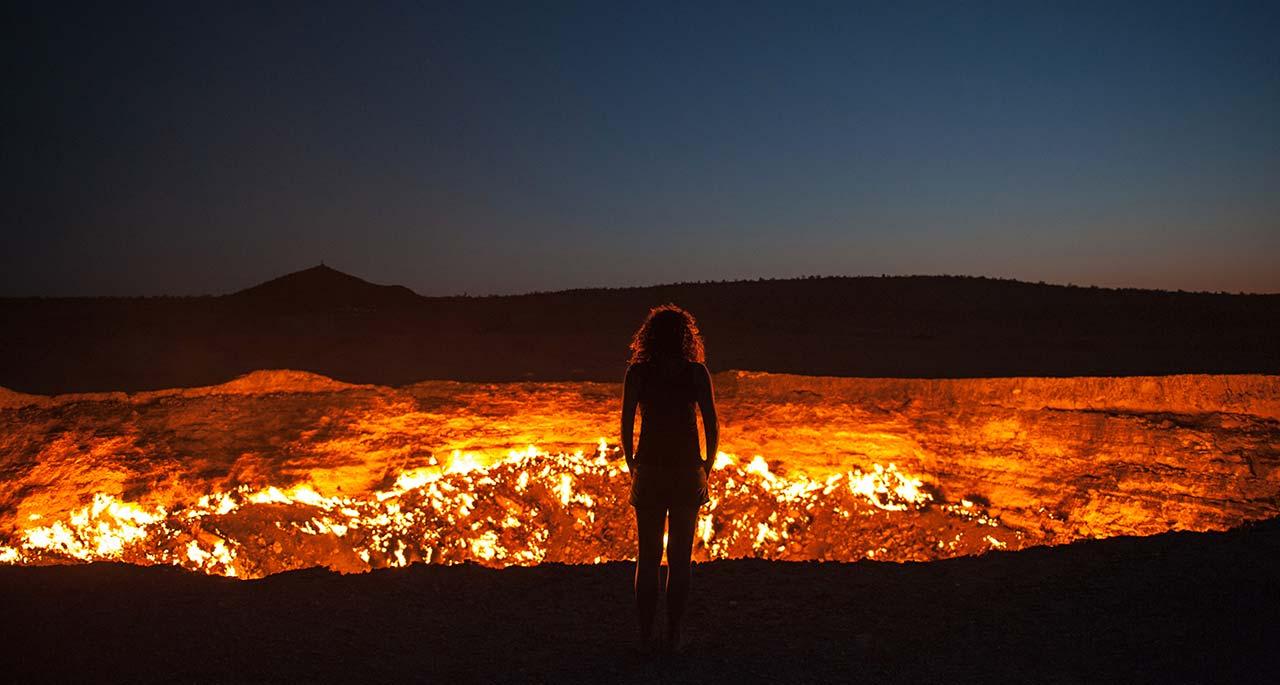 Door To Hell & Door To Hell \u2013 karakum Desert Central Turkmenistan \u2013 Yes That\u0027s True