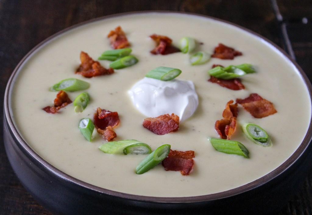 Silky Potato-Leek Soup | Yes to Yolks