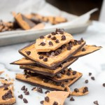 Sea Salted Butterscotch Chocolate Bark | yestoyolks.com