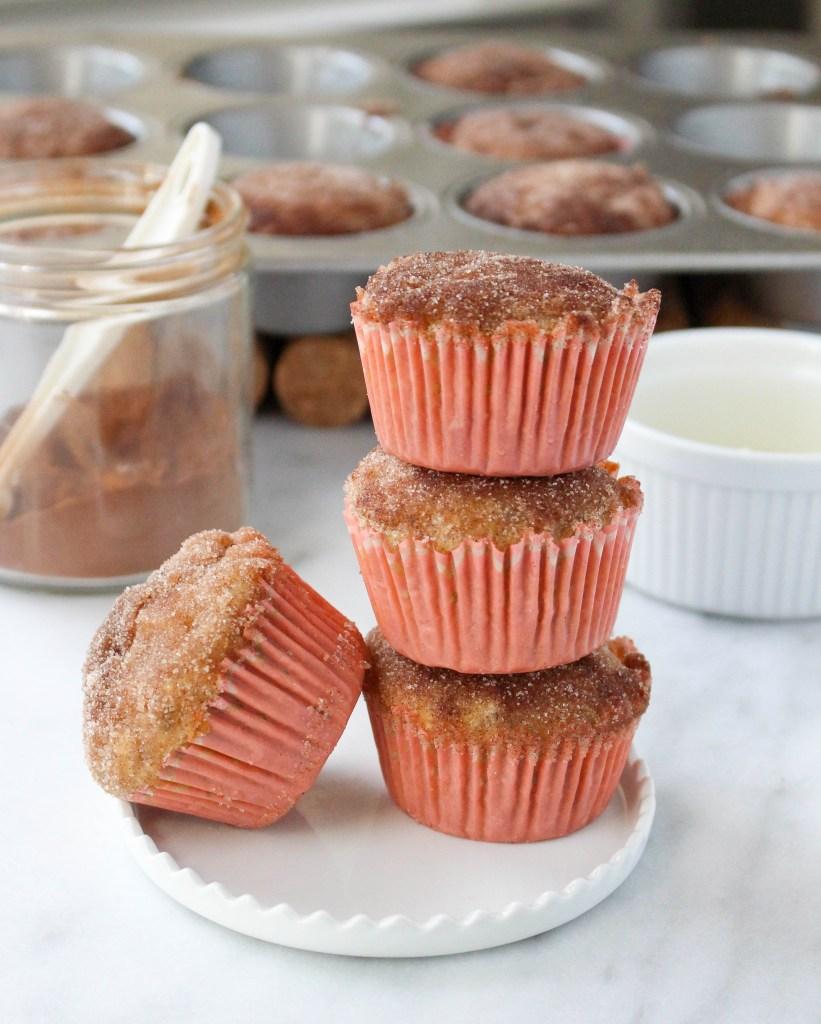 Healthy Apple Cinnamon Muffins | yestoyolks.com