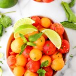 Mojito Melon Salad | yestoyolks.com