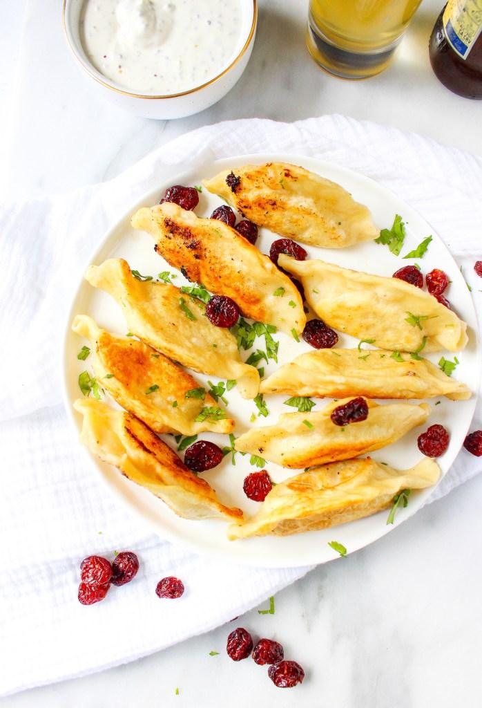 Thanksgiving Leftovers Pierogies