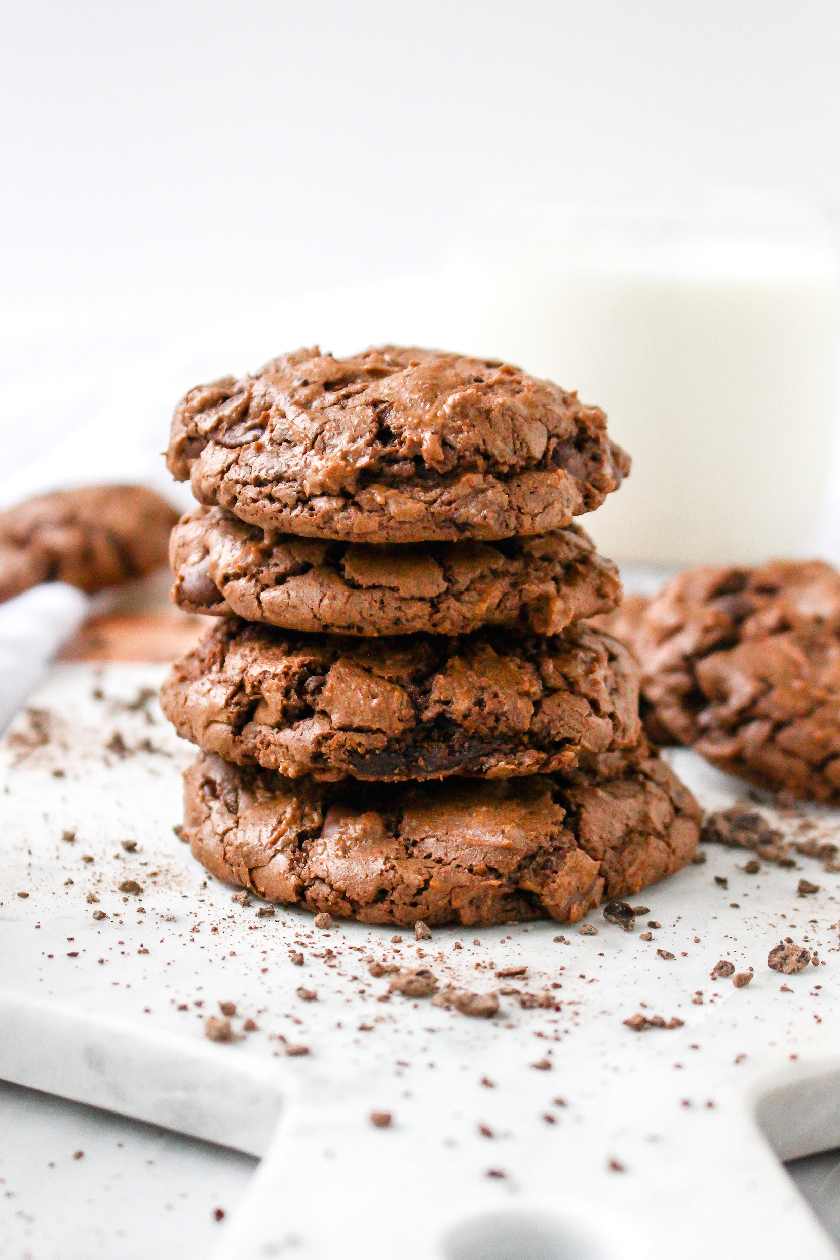 Peanut Butter Espresso Fudge Cookies