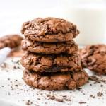 Peanut Butter Espresso Fudge Cookies