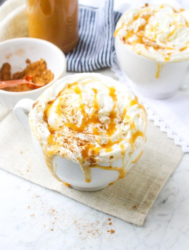 Chai Caramel Macciatos