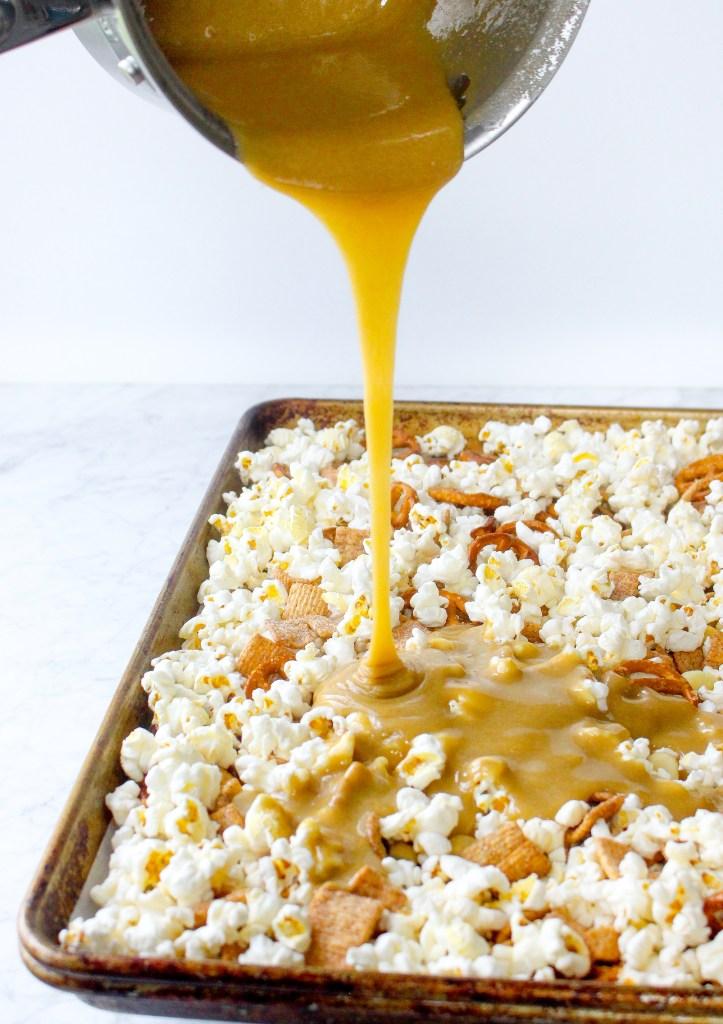 Marshmallow Popcorn Snack Mix