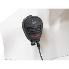 heavy duty lapel speaker microphone Entel DX series hand portable radio