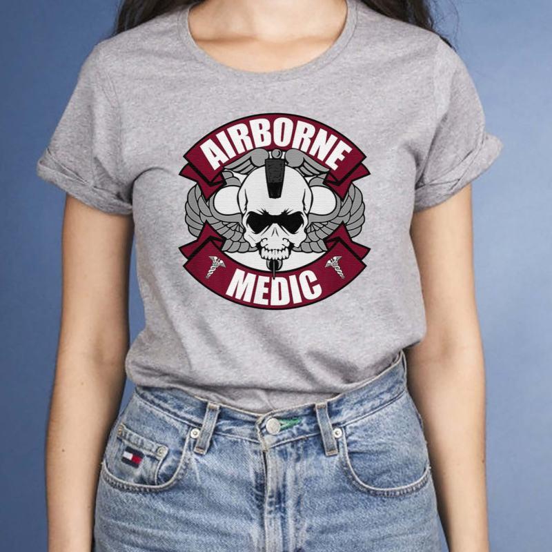 Airborne-Medic-T-Shirts