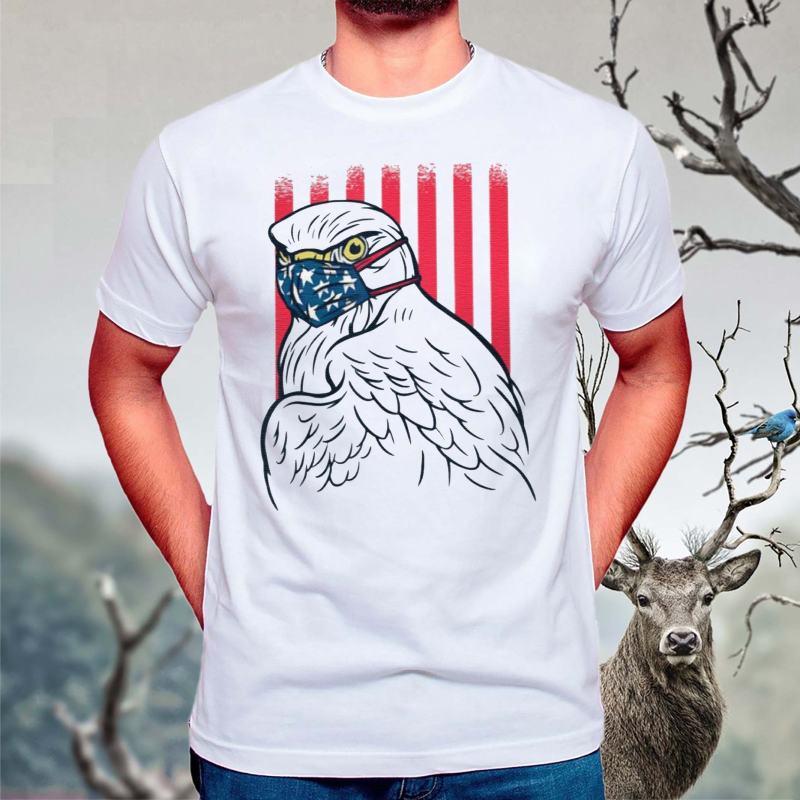 American-Eagle-mask-quarantine-T-Shirts