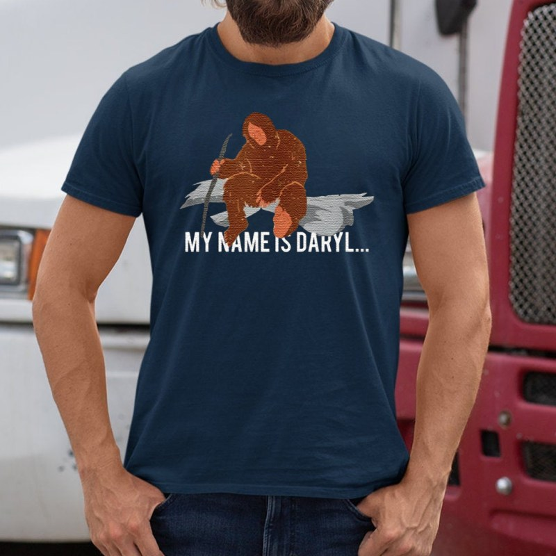 Bigfoot my name is Daryl shirt