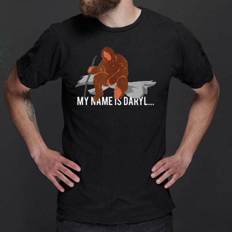Bigfoot-my-name-is-Daryl-shirts