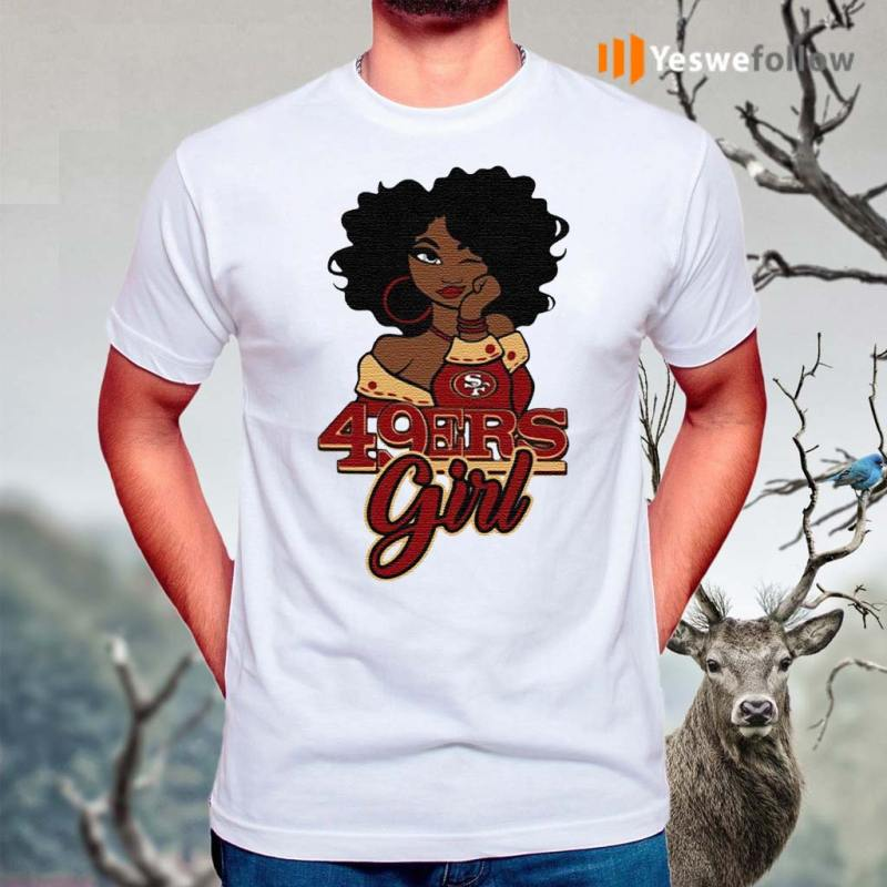 Black-Girl-San-Francisco-49ers-Shirts