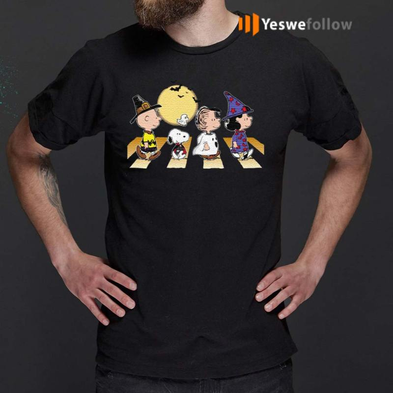Charlie-Snoopy-Linus-Lucy-Halloween-Abbey-Road-Walk-T-Shirt